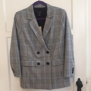 NWT Halogen Double Breasted Blazer Size M